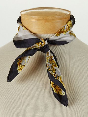 Silk Baroque Neck Scarf - Image 1 of 2