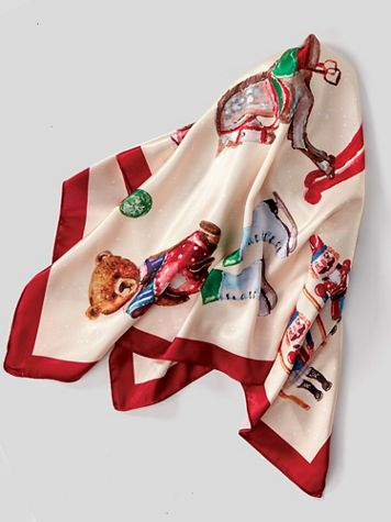 Vintage Toys Scarf - Image 3 of 3