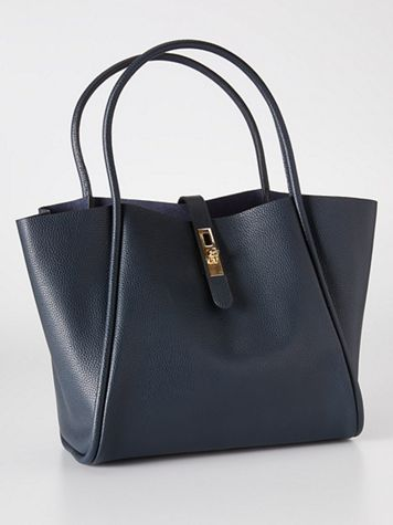 Lydia Large Leather Tote
