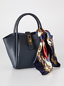 Lydia Small Leather Tote