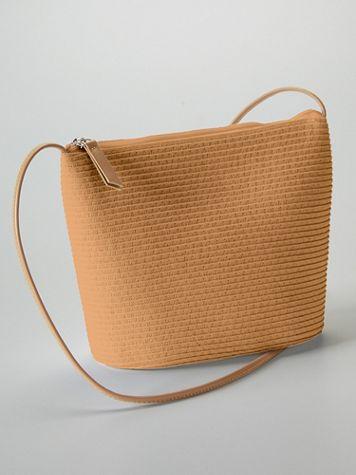Magid® Straw Crossbody Bag