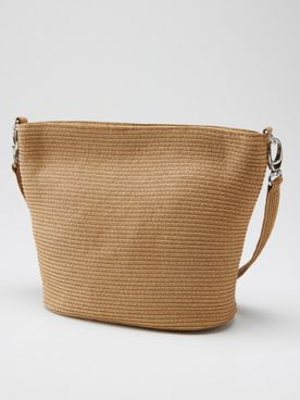 Magid Straw Shoulder Bag