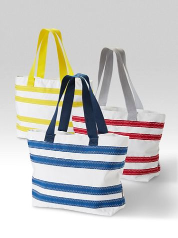 SailorBags® Nautical Stripe Tote - Image 1 of 4