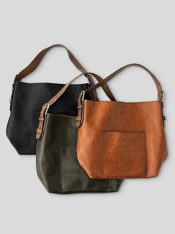 Classic Hobo Shoulder/Crossbody Bag - Image 1 of 6