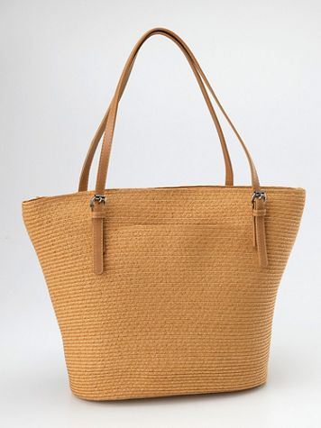 Magid  Straw Tote - Image 1 of 1