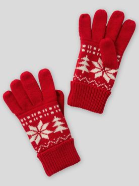 Nordic Knit Gloves