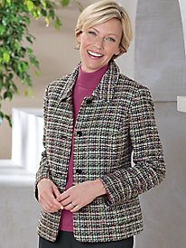 Koret Boucle Tweed Jacket