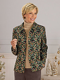 Koret Floral Tapestry Jacket