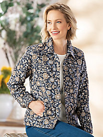 Tapestry Jean Jacket by Koret