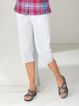 Savannah Pull-On Capris