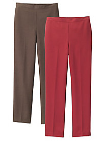 Canyon Pull-On Pants by Alfred Dunner