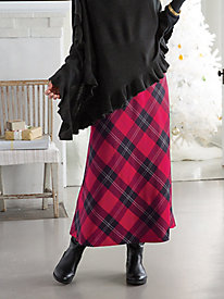 Tartan Plaid Boot Skirt
