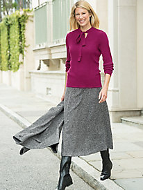Uptown Tweed Skirt