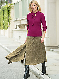Uptown Tweed Skirt