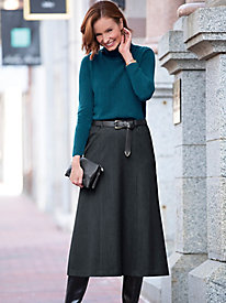 Washable Gabardine Skirt