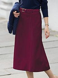 Washable Gabardine Skirt