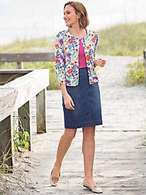 Slim-Sation Denim Skirt
