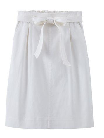 Dennisport Topstitch Tie Waist Skirt - Image 3 of 3