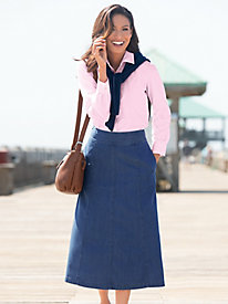 Tencel Cotton Boot Skirt