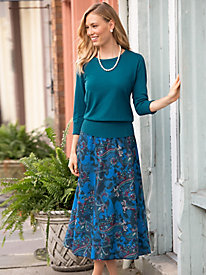 Paisley Reversible Skirt