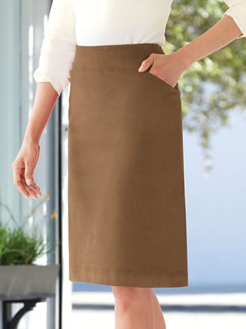 Stretch Pincord Skirt - Image 2 of 2