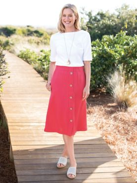 Midi Skirt, Mighty Pretty