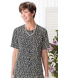 Floral Dot Blouse by Koret