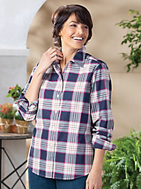 Plaid Shirt by Foxcroft