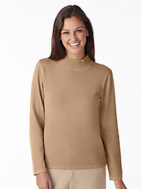 Everyday Mockneck Sweater