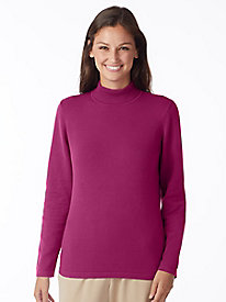 Everyday Mockneck Sweater by Appleseed's