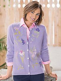 Spring Blossoms Cardigan