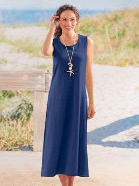 Boardwalk Sleeveless Maxi Knit Dress