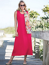 Boardwalk Sleeveless Maxi Knit Dress by Appleseed's