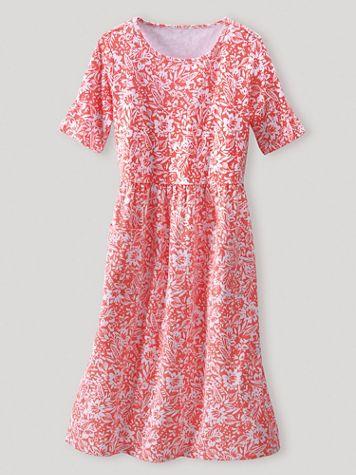 Boardwalk Two Pocket Print Dress - Image 1 of 1