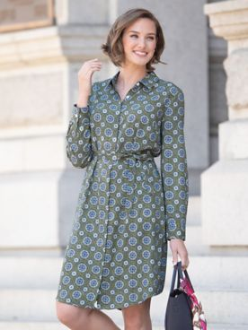 Medallion Shirtdress