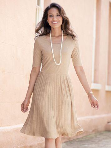 Becky Pleated Dress