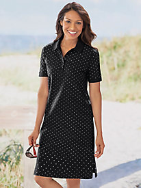 Polka Dot Polo Dress