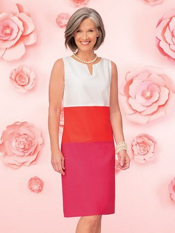 Colorblock Shift Dress - Image 4 of 4