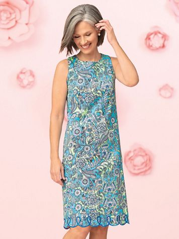 Floral Paisley Dress - Image 4 of 4