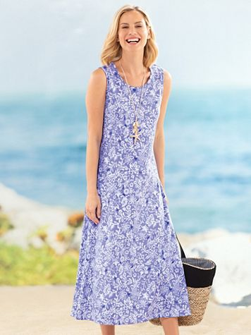 Print Boardwalk Maxi Dress - Image 3 of 4