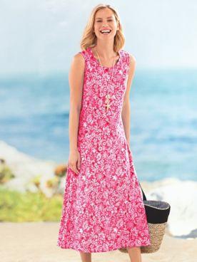 Print Boardwalk Maxi Dress