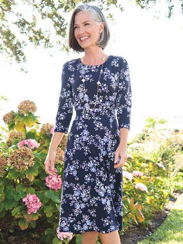 Floral Bouquet Knit Dress - Image 3 of 3