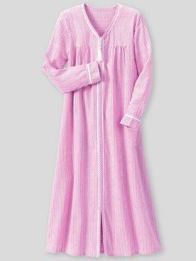 Seersucker Stripe Robe