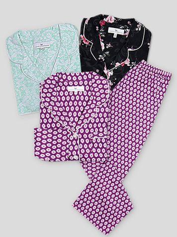 Karen Neuburger Long-Sleeve Girlfriend Pajamas - Image 1 of 9