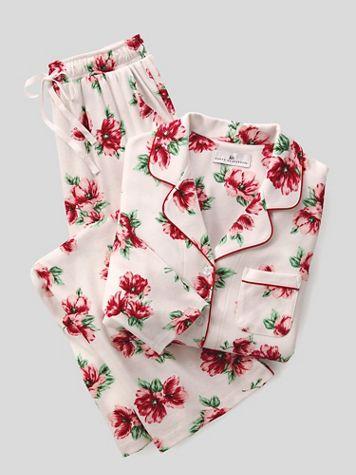 Karen Neuburger® Vintage Floral Girlfriend Pajamas - Image 2 of 2