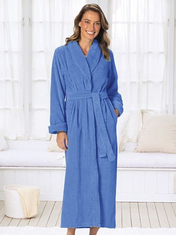 Long Chenille Robe - Image 1 of 4