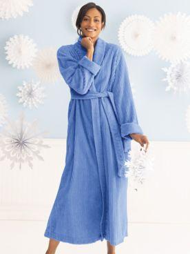 Long Chenille Robe