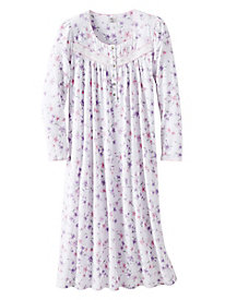 Aria Brushed Waffle Fleece Ballet Nightgown