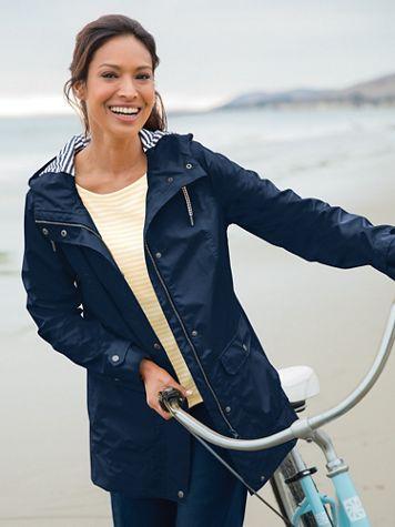 Nautical Rain Jacket - Image 1 of 5