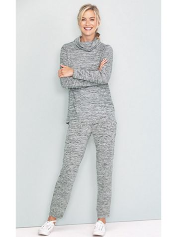 Athleisure Knit Pants - Image 1 of 4